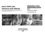 ywca child care resource and referral