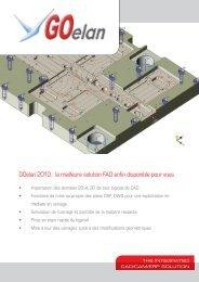 GOelan 2010 : la meilleure solution FAO enfin disponible ... - TopSolid
