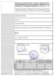Z:\Commesse ISO 9001\Riqualificazione del parco urbano del ...