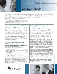 Patient Summary - American Academy of Neurology