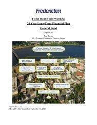 Long Term Financial Plan - Fredericton