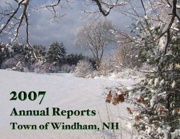 2007 - Town of Windham