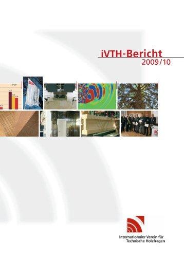 Forschungsprojekte aus der Industriellen ... - iVTH