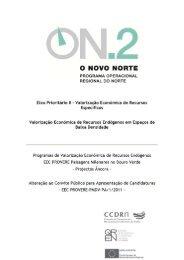 Alteração ao Convite Público para Apresentação de ... - O Novo Norte