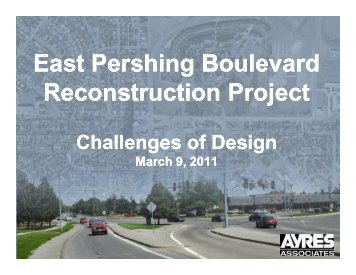 East Pershing Boulevard Reconstruction Project - azite