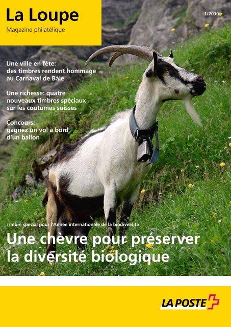 La Loupe, Magazine philatélique - La Poste Suisse