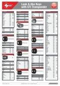 Look A-like Keys with GTI Transponder - Kaba do Brasil LTDA - Page 3