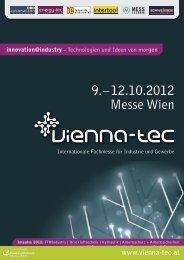 Innovation Mall Mittel- & Osteuropa im Visier - Vienna-Tec 2012