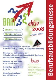 Sonntag, 20. April 2008, 17522 Uhr BAM aktiv 2008 4live Party im ...