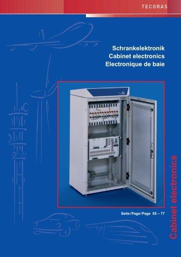 Cabinet electronics - Connex Telecom
