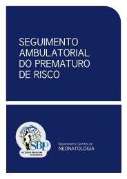 seguimento ambulatorial do prematuro de risco - Sociedade ...