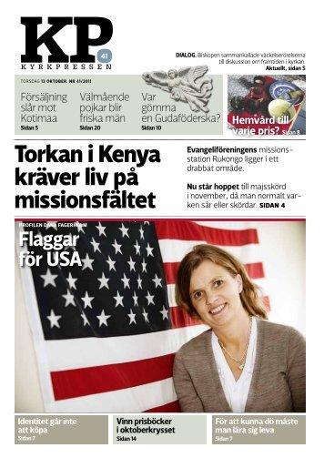 Kyrkpressen 41/2011 (PDF: 2.7MB)