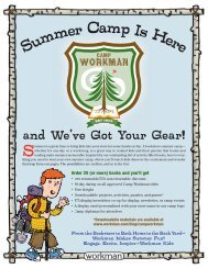 Summer Camp Is Here - Workman Publishing