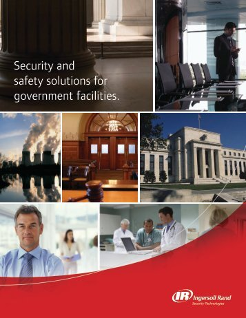 Ingersoll Rand Government Brochure. - Security Technologies