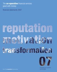 Financial Statements 2007 (PDF - 1.7MB) - The Co-operative ...