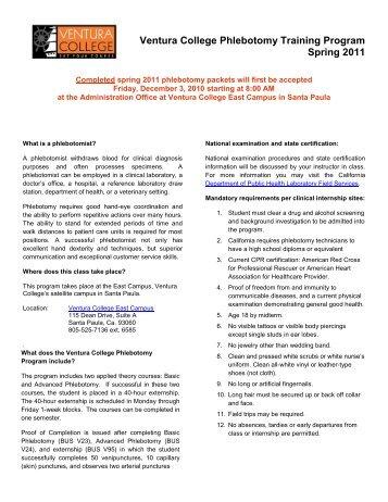 fundamentals of phlebotomy rh yumpu com Phlebotomy Study Chart Phlebotomy Questions