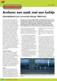 Arnhem: een zaak met een luchtje - NIFV