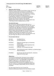 Leistungsverzeichnis Archimod 80kVA V1-01 - Meta System ...