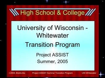 High School & College - Club TNT