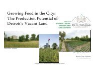 Growing Food in the City - The CS Mott Group for Sustainable Food ...