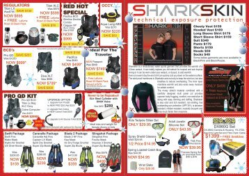 red hot special pro qd kit - Online Scuba Diving Booking System