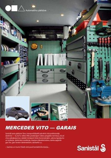 Mercedes Vito garais - Auto pārbūve - Sanistal