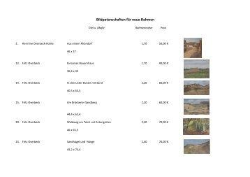 Bildpatenschaften für neue Rahmen - Overbeck-Museum