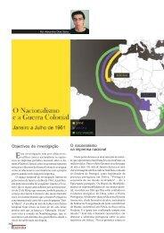 O Nacionalismo e a Guerra Colonial - ed.592, Fev2010 - Ultramar