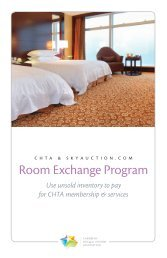 Room Exchange Program - Caribbean Hotel & Tourism Association