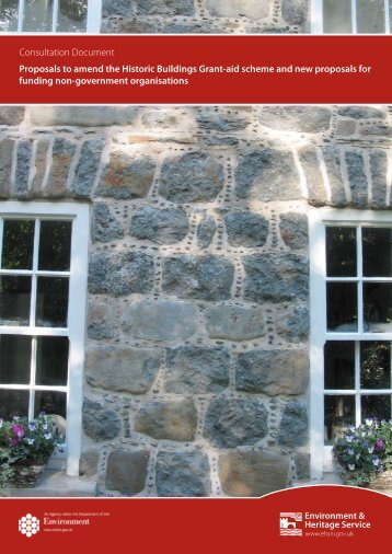 Consultation Document - Ulster Architectural Heritage Society