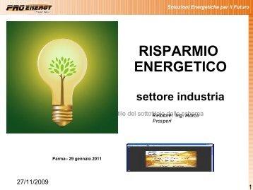 Interventi di risparmio energetico – Impianto termico - APLA