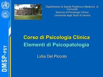 File lezioni 5 - 9 (pdf, it, 7268 KB - Università degli Studi di Verona