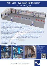 AIRTECH - Typ Push-Pull System - TEKA GmbH