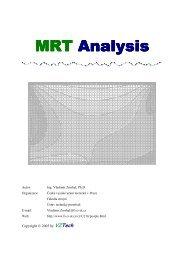 Popis MRT Analysis