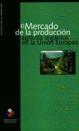 El mercado de la producción agrícola orgánica en la Unión Europea