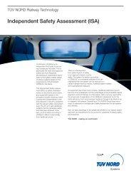 Independent Safety Assessment (ISA) - TÜV NORD