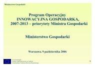 prezentacja - Polska Agencja Rozwoju Przedsiębiorczości