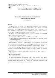 DEGRADO E PROTEZIONE DELLE STRUTTURE IN ...