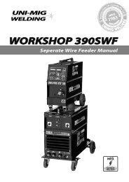 WORKSHOP 390 SWF Manual - Uni-Mig