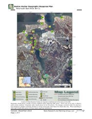 Boston Harbor Geographic Response Plan Weymouth Back River ...