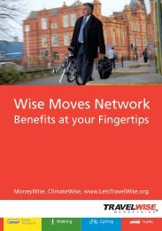 Wise Moves Network - the TravelWise Merseyside website