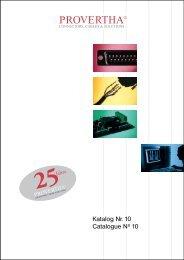 Katalog Nr. 10 Catalogue No 10 - Rosenberger