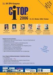 11. IIR ÖPV-Kongress - citop-online.de