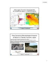 Oceanography, Hermann Fritz - Earthquake Engineering Research ...