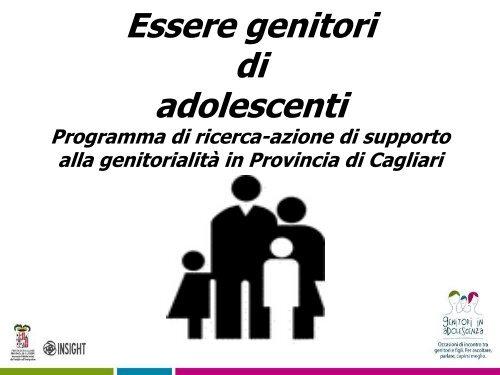 Insight Presentazione ricerca - Sociale - Provincia di Cagliari