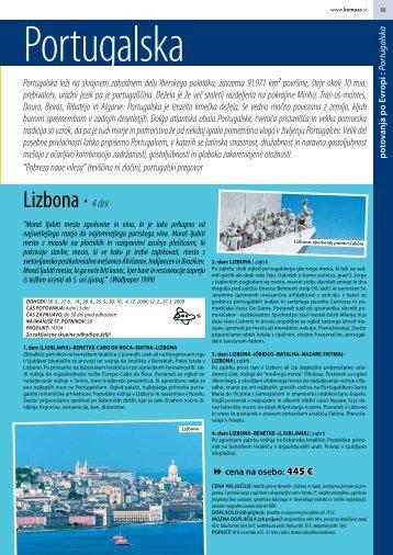 Lizbona · 4 dni - Kompas