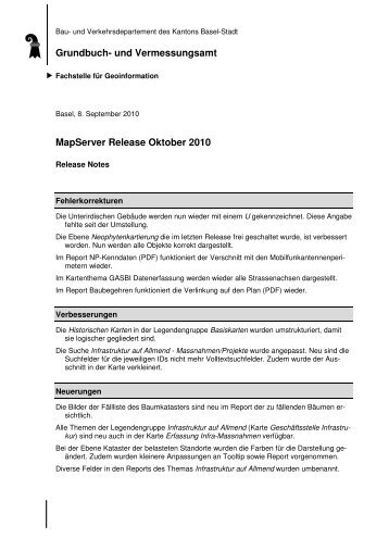 Release Notes MapServer