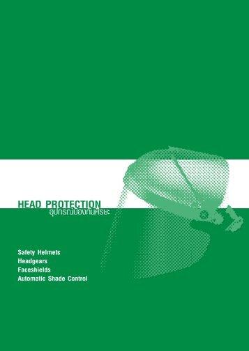 อุปกรณ์ปกป้องศรีษะ Head Protection