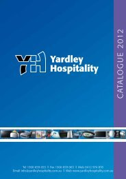 catalogue 2012 - Yardley Hospitality