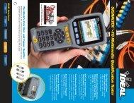 IDEAL SIGNALTEK-FO Multimedia Qualification Tester Brochure